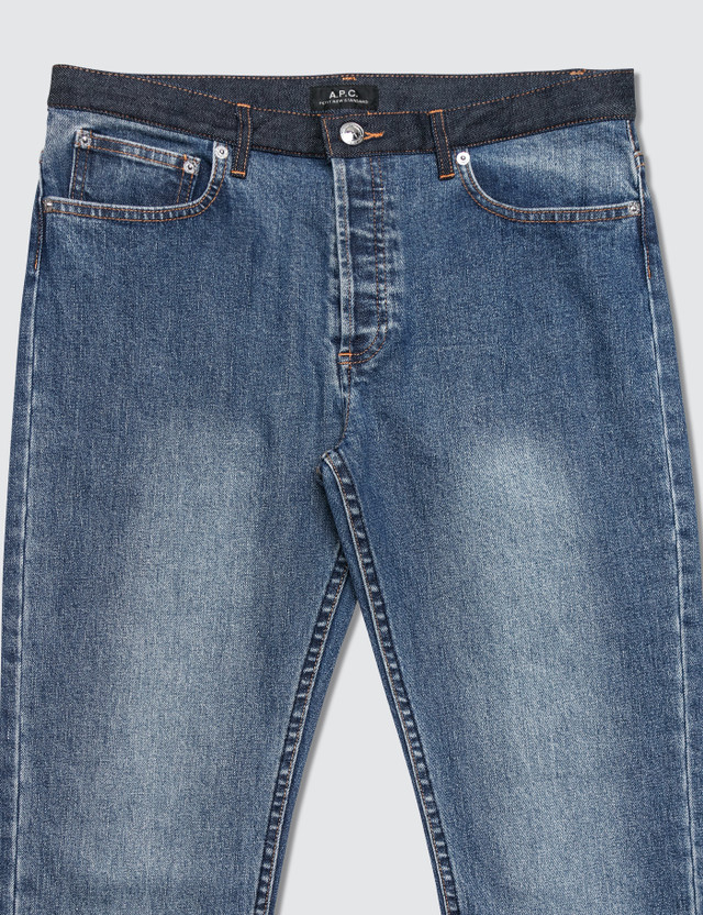 A.P.C. Petit New Standard Jeans with Contrast Waistband