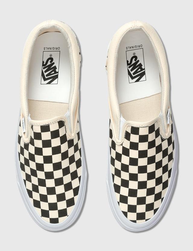 Vans OG 클래식 슬립-온 (canvas) Checkerboard Men
