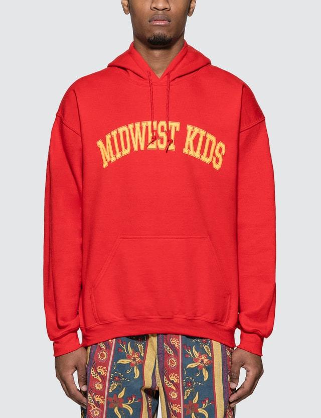 Midwest Kids Arch Logo Hoodie =e26 Men