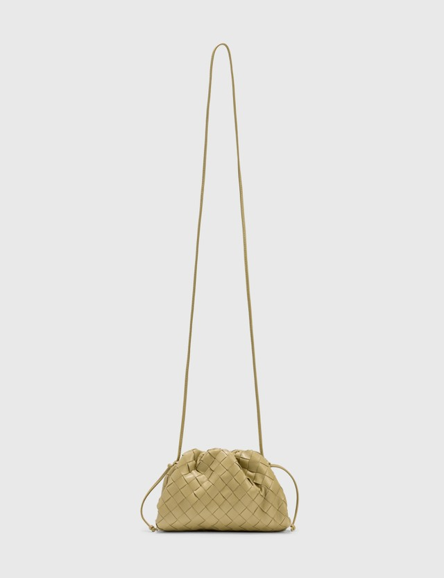 Bottega Veneta The Mini Pouch Tapioca-gold Women