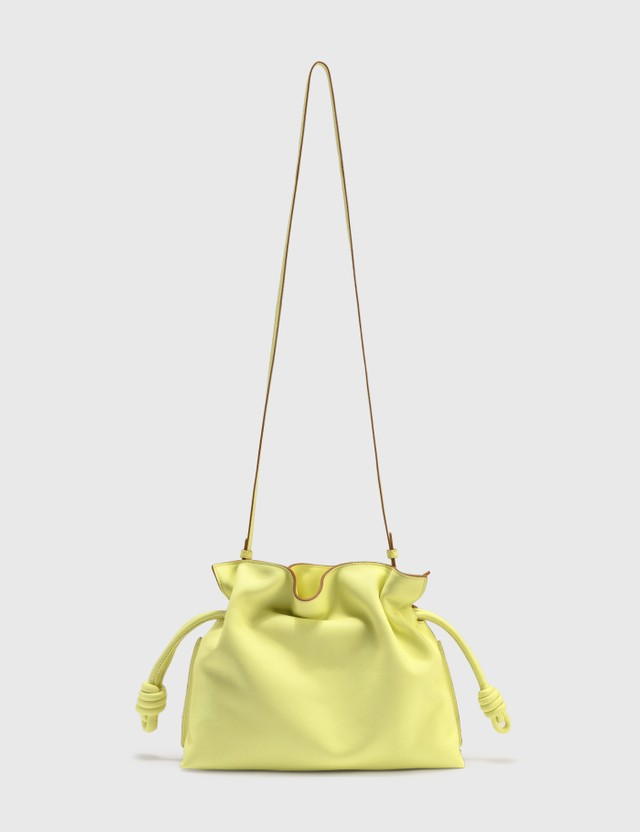 Loewe Flamenco Clutch Crossbody Pale Lime Women