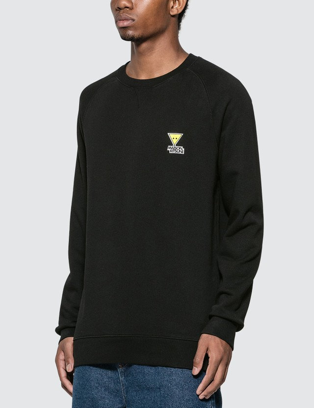 Maison Kitsune Triangle Fox Patch Sweatshirt