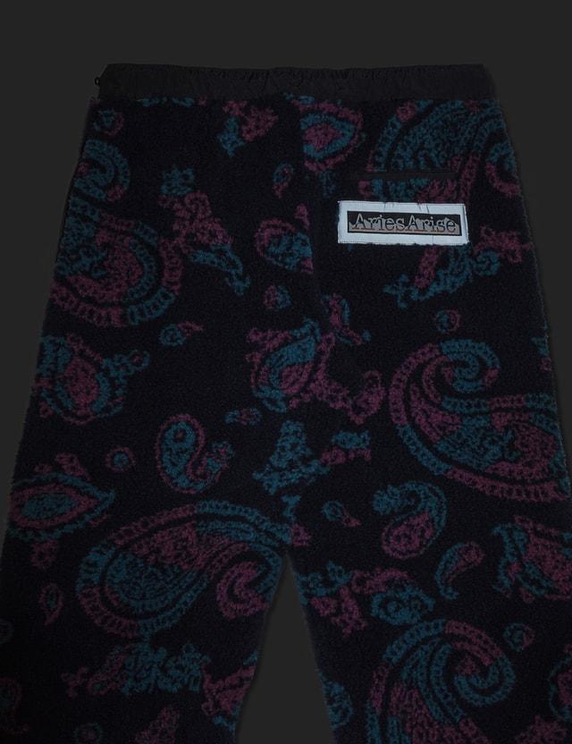 Aries Paisley Fleece Track Pants Paisley Men