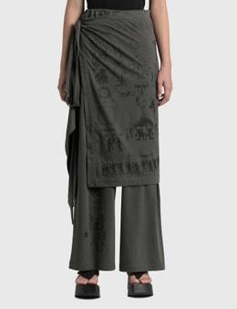 Hyein Seo Wrap Skirt Pants