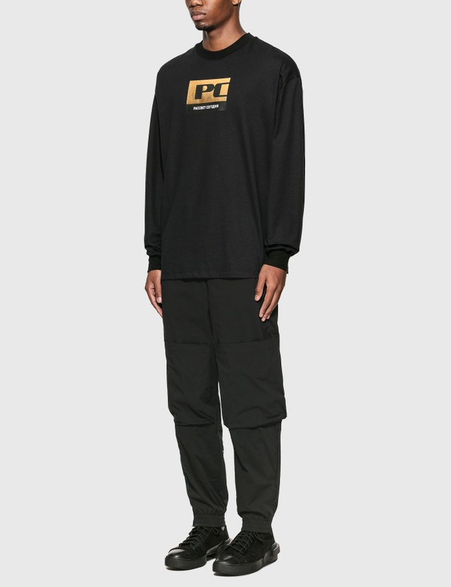 Rassvet Rassvet PACCBET Long Sleeve T-Shirt Black Men