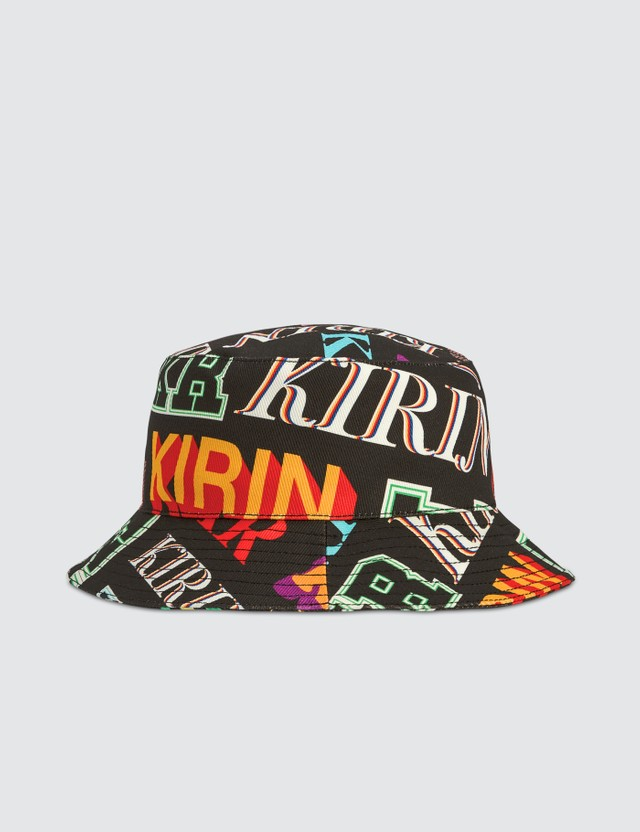 Kirin Typo Denim Bucket Hat