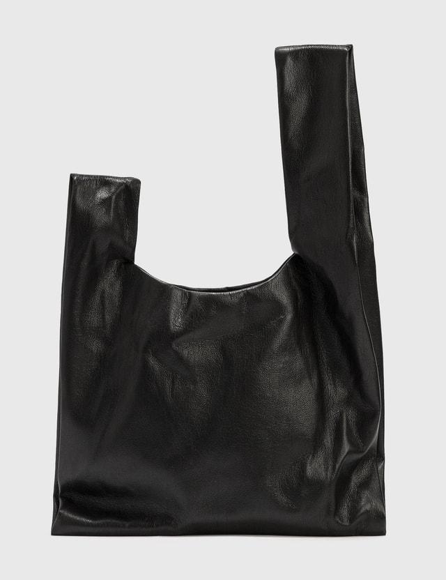 Nanushka Jen Vegan Leather Bag Black Women
