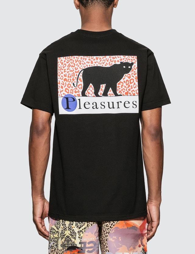 Pleasures Big Cat T-Shirt Black Men