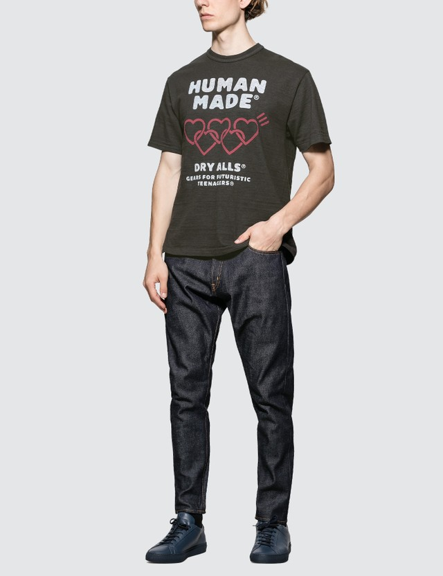 Human Made Multi Heart Graphic Print T-shirt