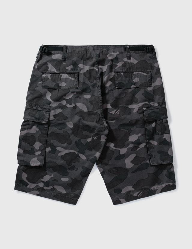 BAPE Bape Black Camouflage Shorts Black Archives