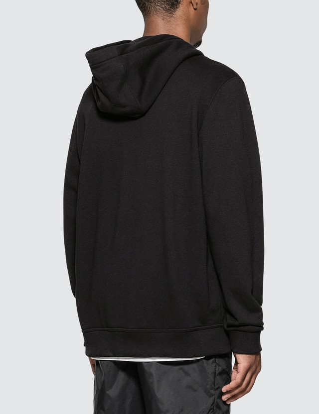 Burberry Contrast Logo Graphic Cotton Hooded Jacket