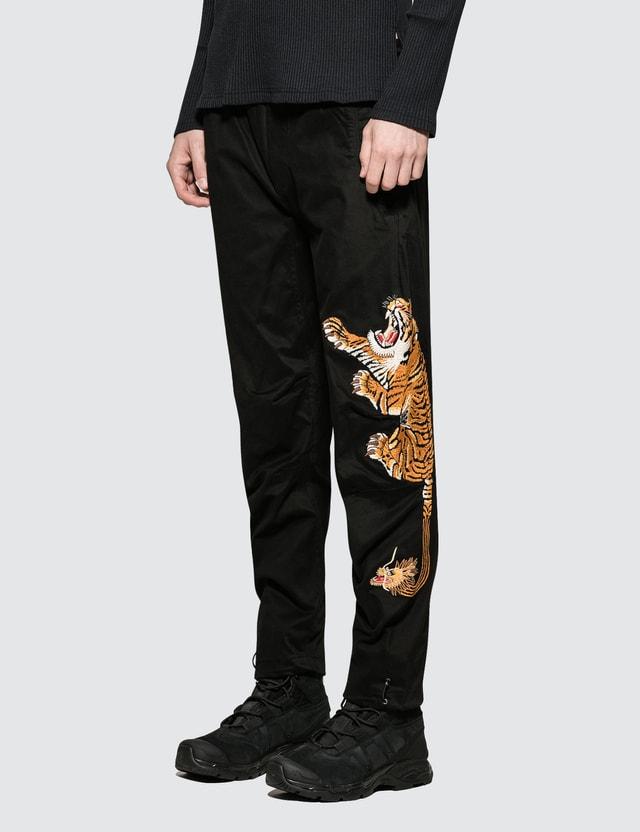 Maharishi Tiger Style Woven Track Pants