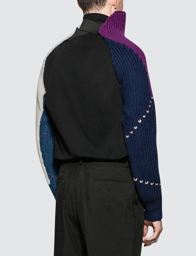 b56aa6a7bcfd0b ... Raf Simons Knitted Sleeves With Elastic ...