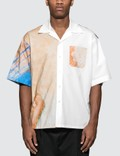 Marni The Kiss Print Cotton Poplin S/S Shirt Picutre