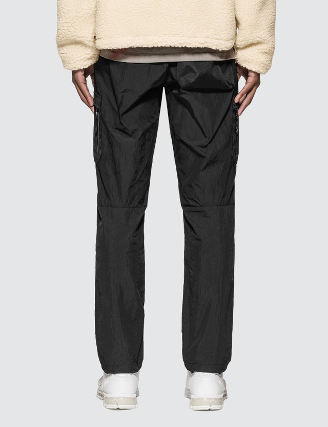 John Elliott High Shrunk Nylon Cargo Pants
