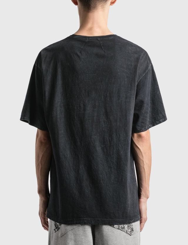 Rhude Logo Pocket T-Shirt Black 0015 Men