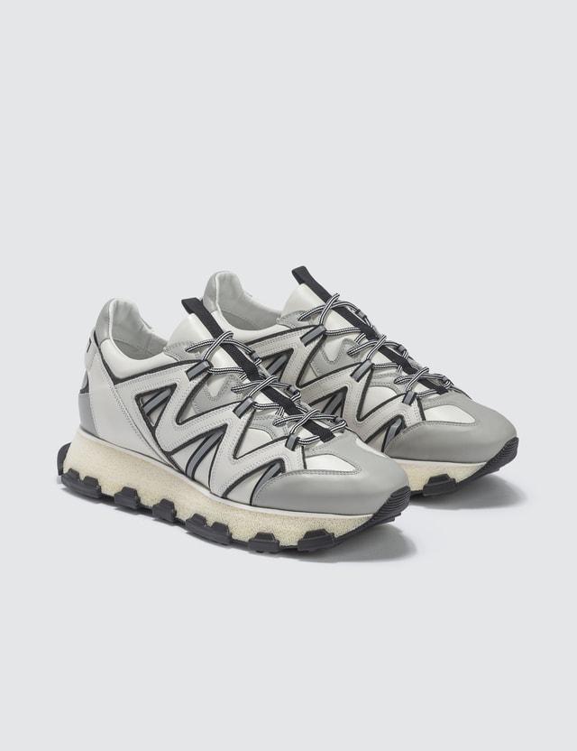 Lanvin White Lightning Sneaker