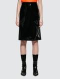 Helmut Lang Vinyl Skirt Picture