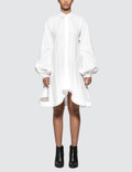 JW Anderson Buttondown Puff Sleeve Dress Picutre