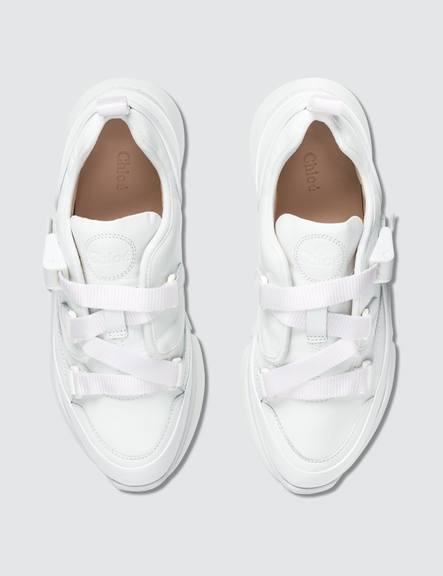 Chloé Nappa Sheepskin Sneakers
