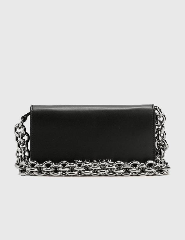 1017 ALYX 9SM Giulia Clutch With Chain Strap Black Women