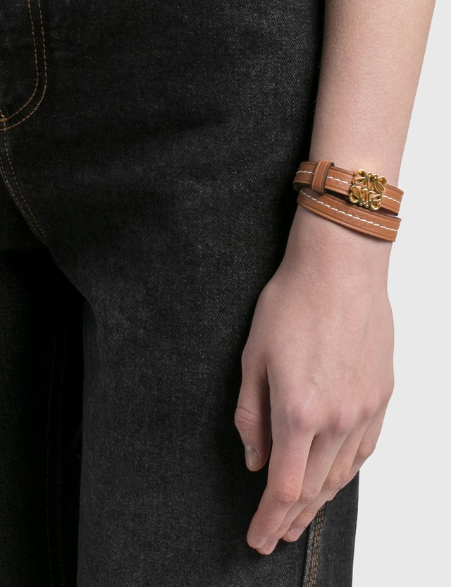 Loewe Anagram Double Bracelet