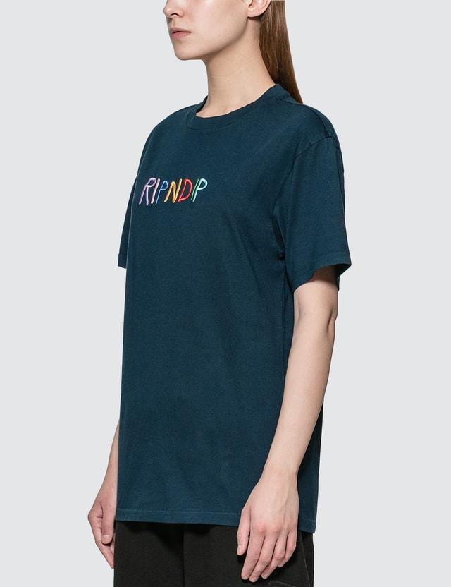 RIPNDIP Embroidered Logo T-shirt