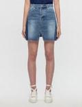 SJYP Cut Off Denim Skirt Picture