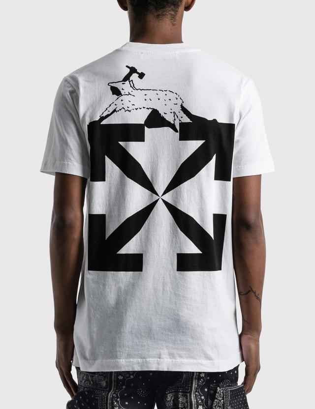 Off-White World Caterpillar Slim T-shirt White Men