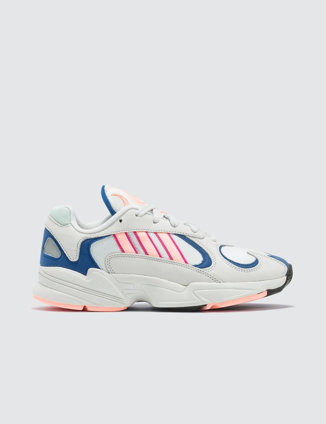 Adidas Originals Yung-1 Sneaker Crystal White/clear Orange/collegiate Royal Women