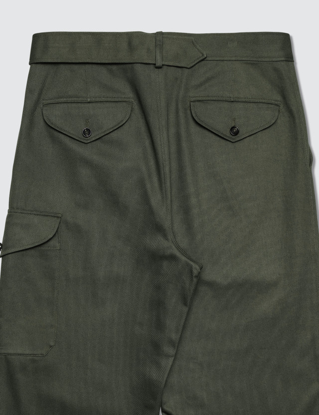Alexander McQueen Trouser Green Men