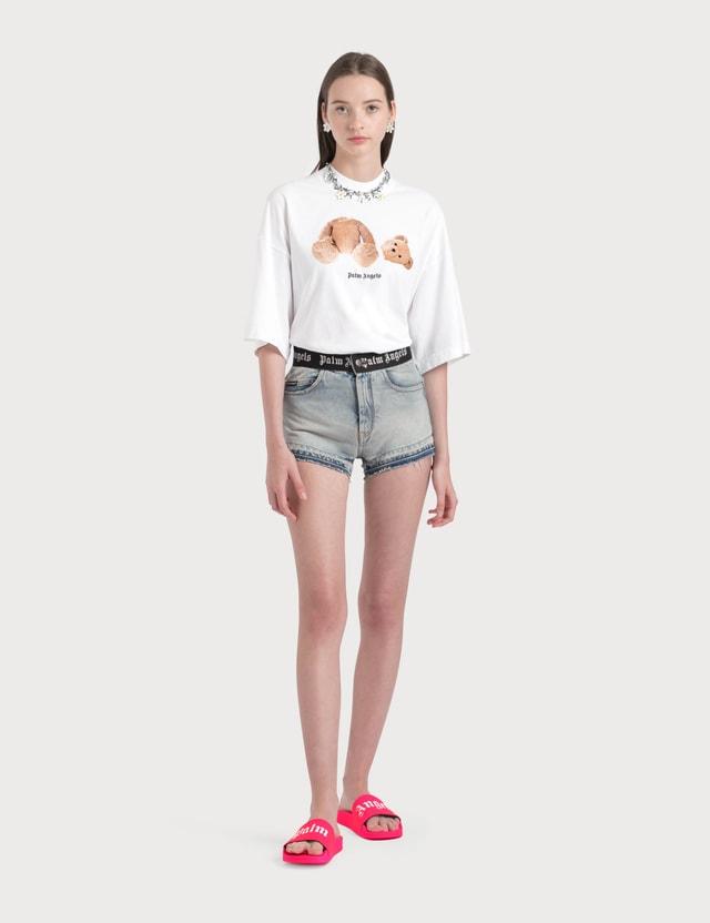 Palm Angels Bear T-Shirt Optical White Women