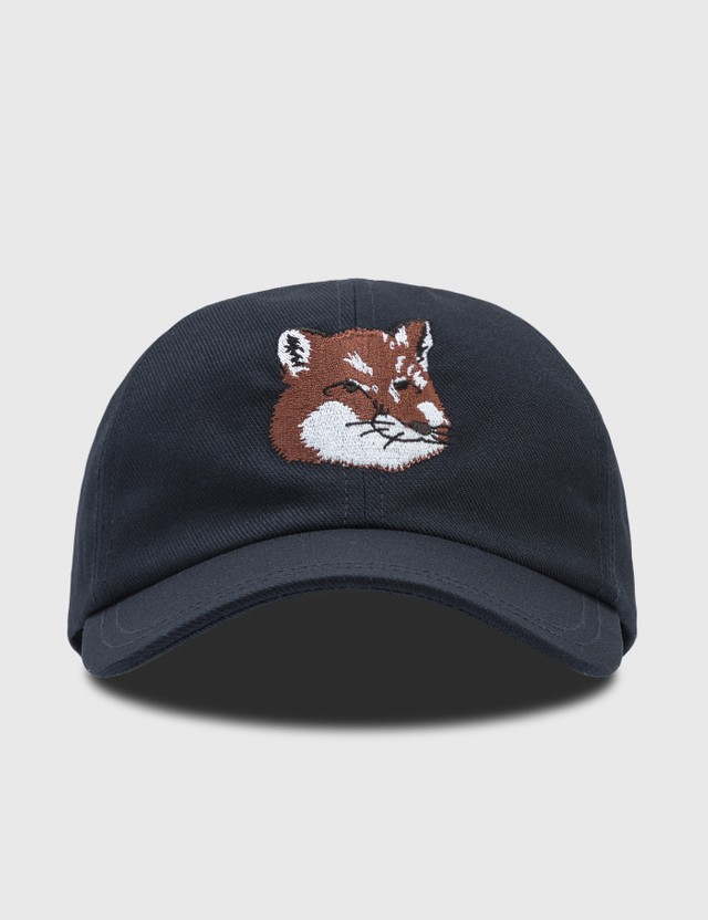 Maison Kitsune Large Fox Head Cap