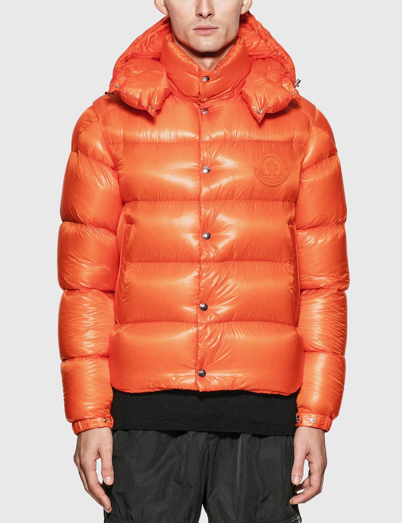 Moncler Tarnos Jacket In Orange