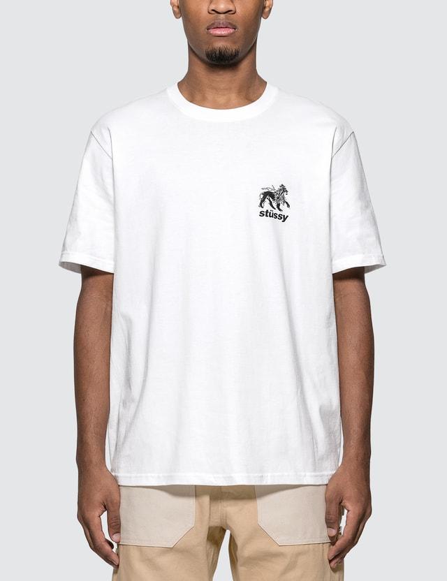 Stussy Rasta Lion T-shirt