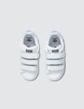 Adidas Originals Stan Smith CF Infants Metallic Silver-sld/white Kids
