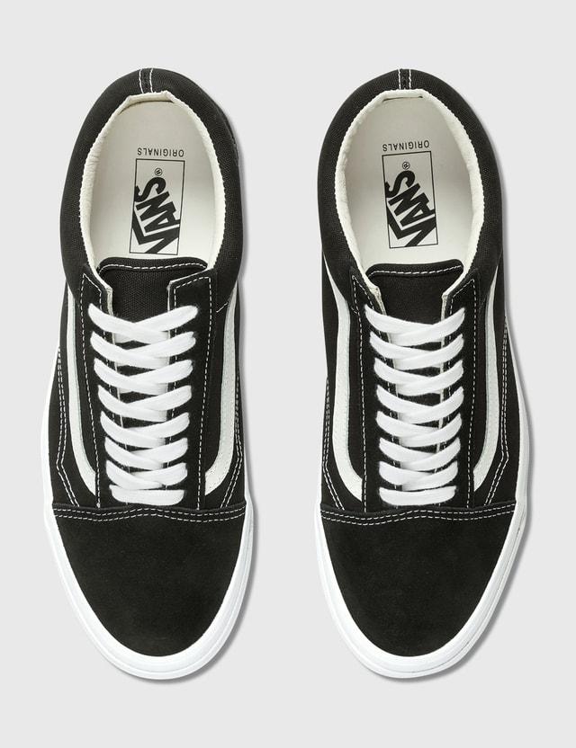 Vans OG Old Skool LX (suede/canvas) Black/true White Men
