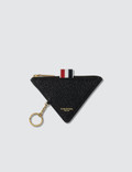 Thom Browne Triangular Zip Coin Pouch Picutre
