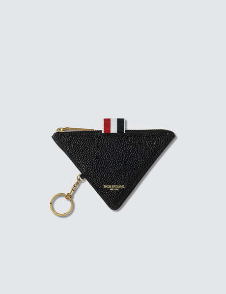 Thom Browne 톰 브라운 Triangular Zip Coin Pouch