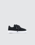 Puma Suede Heart Valentine Infants Puma Black Girls