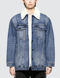Alexander Wang Rift Med Vintage Denim Jacket Picture
