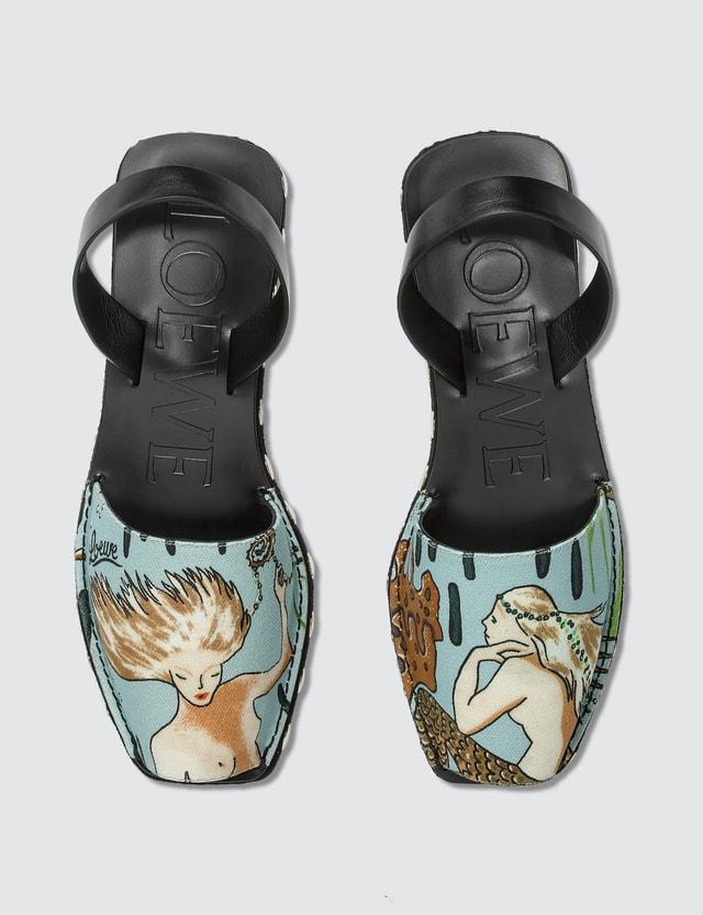 Loewe Paula Mermaid Slingback Sandal