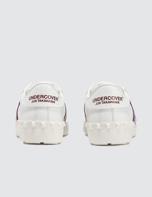 Valentino Valentino Garavani x Undercover Face Logo Open Sneakers