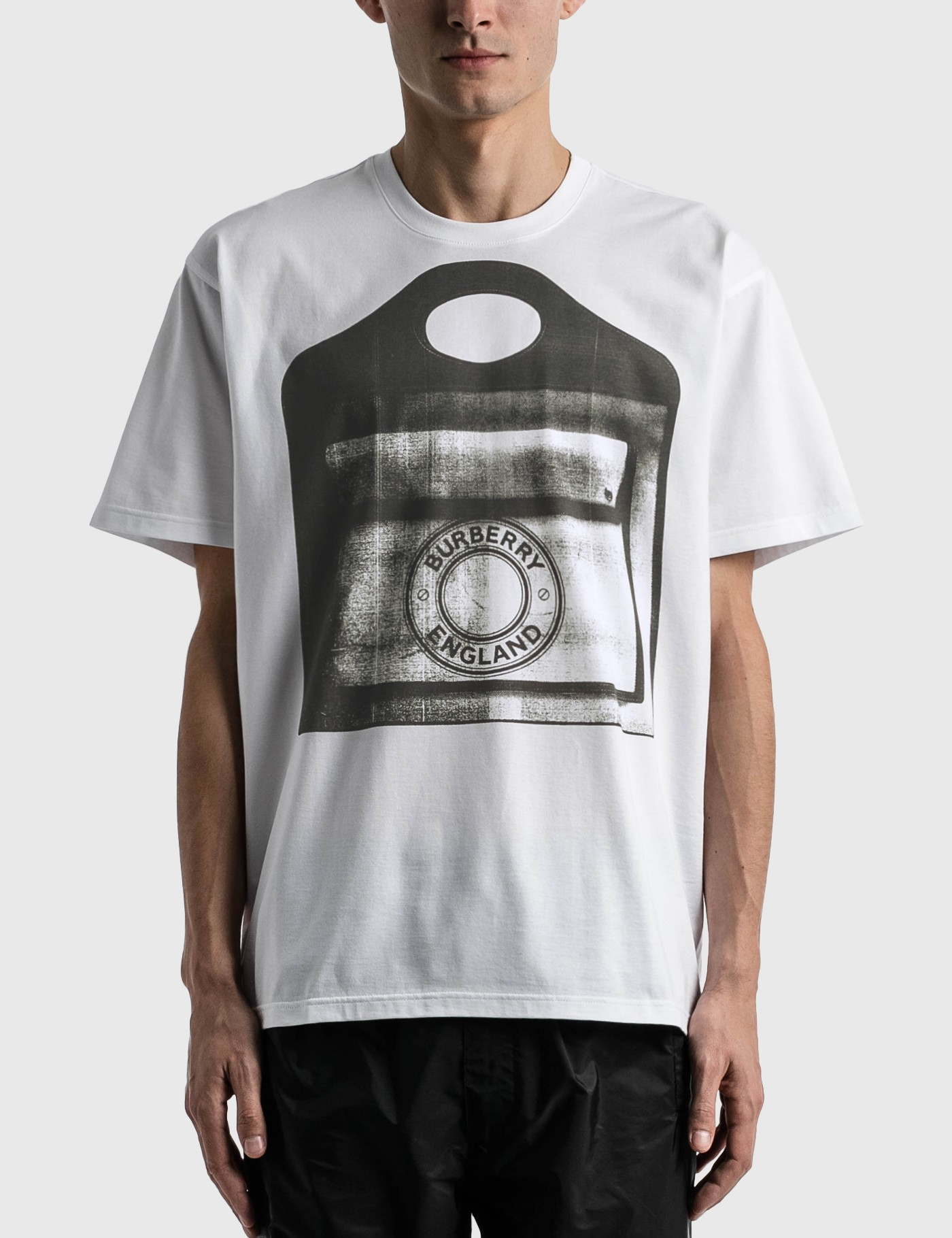 Burberry POCKET BAG PRINT COTTON JERSEY T-SHIRT