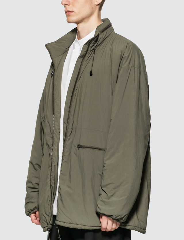 Maison Margiela Recycled Nylon Jacket Green Men