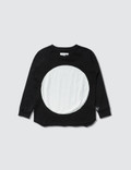 NUNUNU Circle Patch L/S T-Shirt Picutre