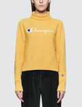 Champion Reverse Weave Turtle Neck Long Sleeves Sweatshirt Picture