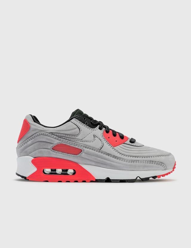 Nike Nike Air Max 90 QS Night Silver/night Silver-bright Crimson Men