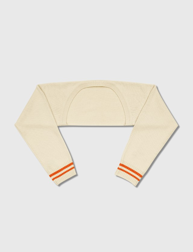 Ader Error 5G Knit Cropped Cardigan