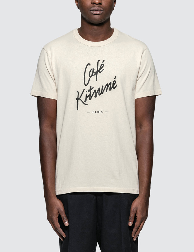 Maison Kitsune Cafe Kitsune S/S T-Shirt